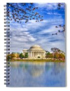Jefferson Memorial Spiral Notebook