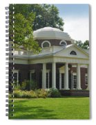 Jeffersons Monticello Spiral Notebook