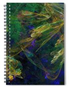 Jelly Fish  Diving The Reef Series 1 Spiral Notebook
