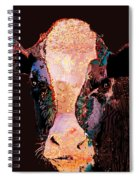 Jemima The Cow Spiral Notebook