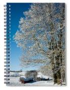 Jenne Farm Winter In Vermont Spiral Notebook