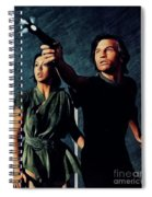Jenny Agutter And Michael York, Logan's Run Spiral Notebook