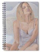 Jenny In White Spiral Notebook
