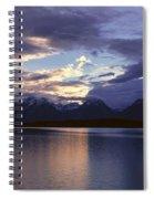 Jenny Lake, Grand Teton National Park Spiral Notebook