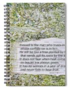 Jeremiah 17 Spiral Notebook