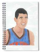 Jeremy Lin Spiral Notebook