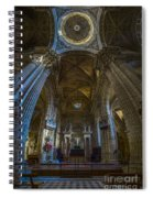 Jerez De La Frontera Cathedral Dome From Inside Cadiz Spain Spiral Notebook