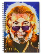 Jerry Garcia-dark Star Spiral Notebook