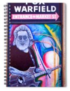Jerry Garcia - San Francisco Spiral Notebook