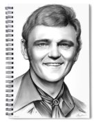Jerry Reed Spiral Notebook