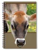 Jersey Fields Of Gold Spiral Notebook