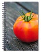 Jersey Fresh Garden Tomato Spiral Notebook