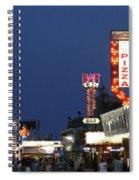 Jersey Shore Board Walk Spiral Notebook