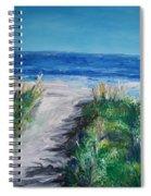 Jersey Shore Dunes  Spiral Notebook