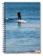 Jersey Shore Surfer Spiral Notebook