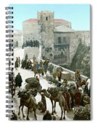 Jerusalem: Bazaar, C1900 Spiral Notebook