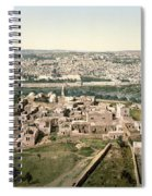 Jerusalem, C1900 Spiral Notebook