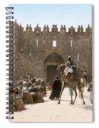 Jerusalem: Caravan, C1919 Spiral Notebook
