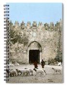 Jerusalem: Damascus Gate Spiral Notebook