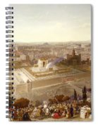 Jerusalem In Her Grandeur Spiral Notebook