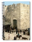 Jerusalem: Jaffa Gate Spiral Notebook