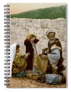 Jerusalem Shoemaker, C1900 Spiral Notebook