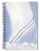 Jerusalem- Tryptich Part  3 Spiral Notebook