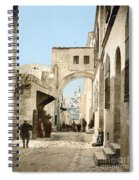 Jerusalem: Via Dolorosa Spiral Notebook