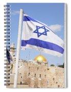 Jerusalem Wailing Wall Spiral Notebook