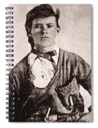 Jesse James (1847-1882) Spiral Notebook