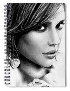 Jessica Alba  Spiral Notebook