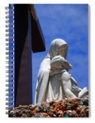 Jesus And Maria Spiral Notebook