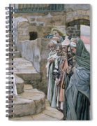 Jesus And The Little Child Spiral Notebook