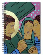 Jesus And The Women Of Jerusalem Spiral Notebook