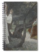 Jesus Appears To The Holy Women Spiral Notebook