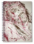 Jesus Crucified Spiral Notebook
