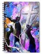 Jesus From Cross Spiral Notebook