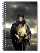 Jesus In The Clouds Spiral Notebook