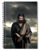 Jesus In The Clouds With Glory Spiral Notebook