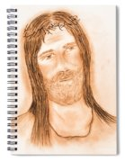 Jesus In The Light Spiral Notebook