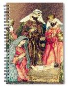 Jesus Is Born Spiral Notebook