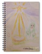 Jesus Is Born Spiral Notebook