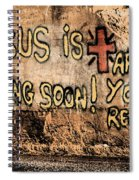 Jesus Is Coming Soon Spiral Notebook