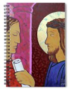 Jesus Is Condemned Spiral Notebook