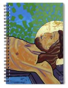 Jesus Is Nailed To The Cross Spiral Notebook