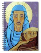 Jesus Is Taken Down From The Cross Spiral Notebook
