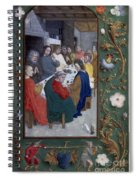 Jesus: Last Supper Spiral Notebook