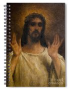 Jesus Meets The Daughters Of Jerusalem. Jesus Comfort Them. 8. Station Of The Cross Spiral Notebook