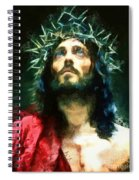 Jesus Of Nazareth Spiral Notebook