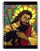 Jesus The Good Shepherd Spiral Notebook